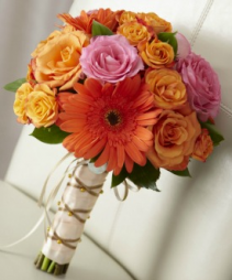Fall Season Bouquet Wedding