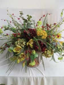 Fall Silk Arrangement 22 Silk Arrangement in Farmville, VA | CARTERS FLOWER SHOP