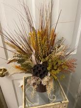 Fall silk arrangement