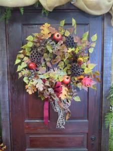 Fall Silk Wreath 15  Silk Wreath in Farmville, VA | CARTERS FLOWER SHOP