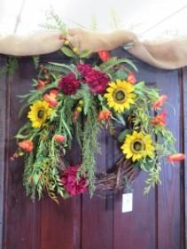 Fall Silk Wreath 2  Silk Wreath