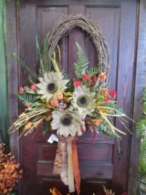 Fall Silk Wreath 3 Silk Wreath