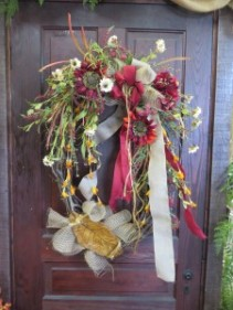 Fall Silk Wreath 4 Silk Wreath