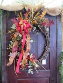 Fall Silk Wreath 5 Silk Wreath