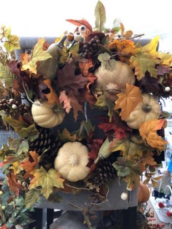 Fall Silk Wreath