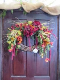 Fall Silk Wreath 6 Silk Wreath