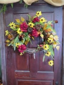 Fall Silk Wreath 7 Silk Wreath