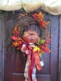 Fall Silk Wreath 9 Silk Wreath