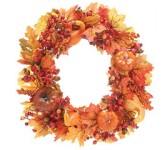 "Fall Silk 24"" Wreath Home Decor"