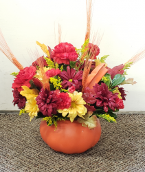 Fall Spice Keepsake Arrangement
