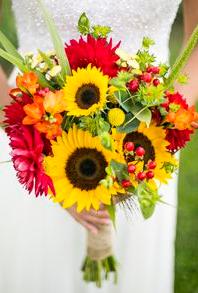 Fall Splendor Bridal bouquet