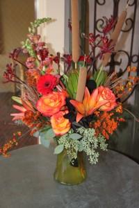 Fall Splendor Fitzgerald's Original Design in La Grande, OR | FITZGERALD FLOWERS