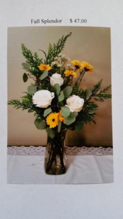 Fall Splendor Vase