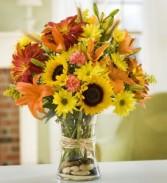 Fall Splendor Vase Arrangement