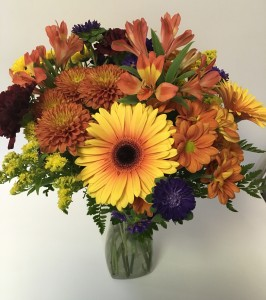 Fall Splendor Vase Arrangement