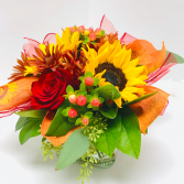 Fall Joy Vase Arrangement
