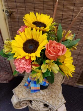 Fall Sunflower Fun