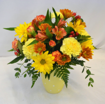 FALL SUNSHINE Flower Arrangement