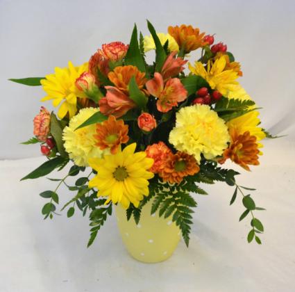 FALL SUNSHINE Flower Arrangement