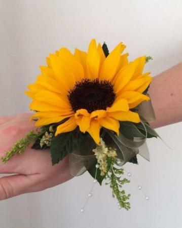FALL SUNSHINE Prom Corsage