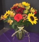 Fall Sunshine Vase