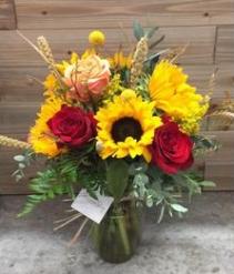 Fall Sunshine Vased