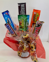Fall Themed Candy Bouquet