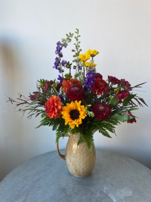 Fall Time Pitcher  in La Grande, OR | FITZGERALD FLOWERS
