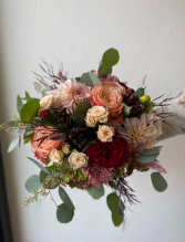 Fall Tones Bridal Bouquet