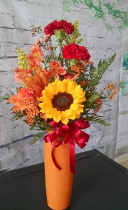 Fall Trio Vase Local Delivery Only