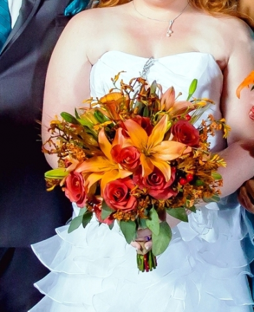 Fall Wedding Bouquets.Fall Wedding Bridal Bouquet In Webster Tx La Mariposa Flowers