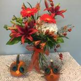 Fall Wedding Centerpiece Arrangment