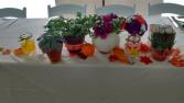 fall wedding centerpieces head table