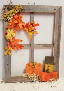 Fall  Window Gifts