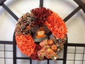 Fall Wreath Hand made fall Wreath