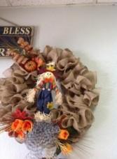 Fall wreath Hand made fall wreath