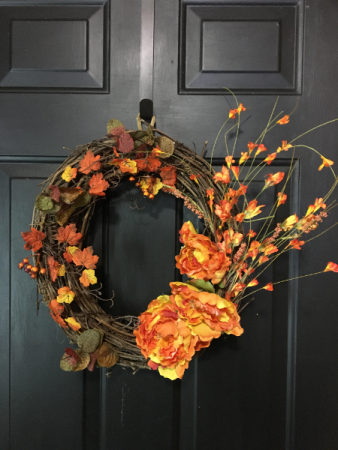 FALL WREATH SEASONAL SILK
