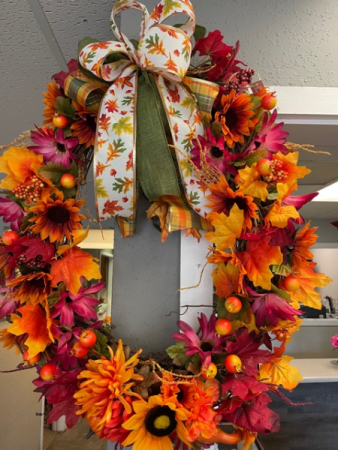 Fall Wreath Silks