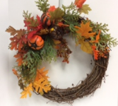 Fall Wreath Workshop Friday September 28/2018 Book by Sept 21st   9 spots