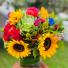 Fallicious  Vase arrangement