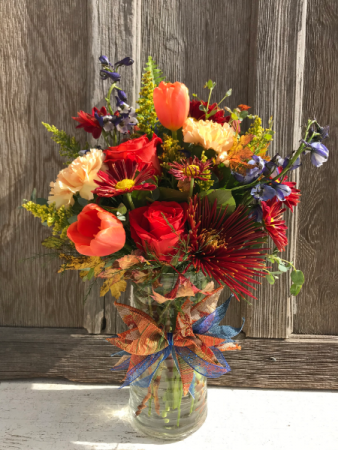 FALLING FOR FALL FLOWERS