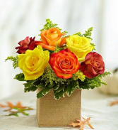 Falling For Roses Fall Bouquet