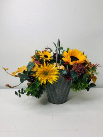 Falling For Sunflowers Flower Arrangement