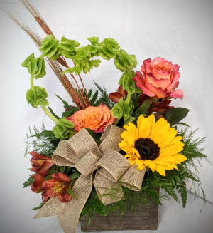 FALLING FOR YOU BOUQUET FALL THEMED in Lewiston, ME | BLAIS FLOWERS & GARDEN CENTER