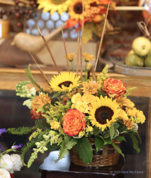 Falling for You Floral Arrangement in Colusa, CA   Richie's Florist