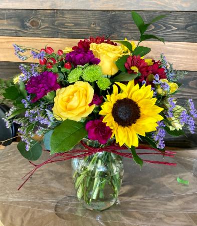 FALLing in LOVE fresh flower bouquet