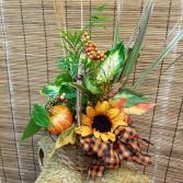 Falling Leaves Basket