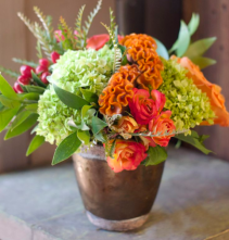 Falling Leaves Flower Arrangement