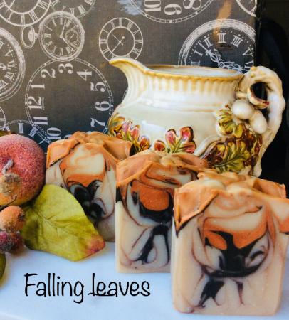 Falling Leaves Soap