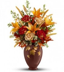 Falling Leaves Vase Bouquet ** Acacia Exclusive **